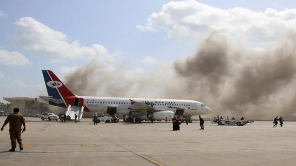 وزير النقل يعلن عودة عمل مطار عدن الدولي غدًا الأحد