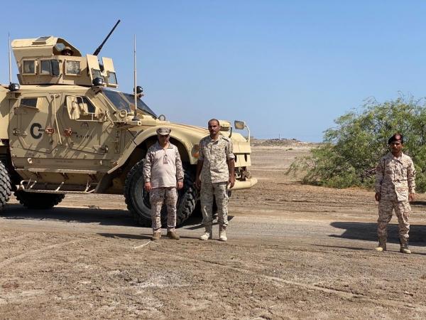 محتجون في أبين يطالبون برحيل القوات السعودية من شقرة