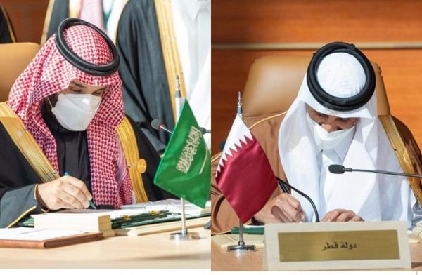 قادة الخليج يوقعون اتفاق تضامن في قمة العُلا