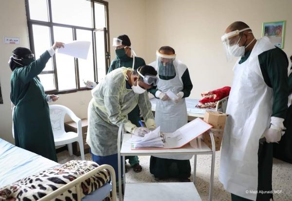 أطباء بلا حدود تدعو المواطنين في إب إلى مراجعة الأطباء عند ظهور اعراض كورونا