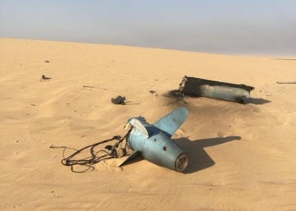 التحالف يعترض طائرة مفخخة حوثية فجر اليوم