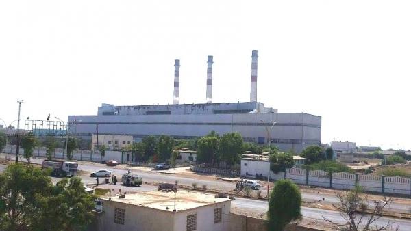 كهرباء عدن تعلن توقف عدد من محطات التوليد بسبب نفاد الديزل