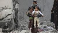مقتل 15 طفلا في غارة جوية على عربين بالغوطة الشرقية