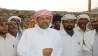 بن عفرار رئيس المجلس العام  يغادر جزيرة سقطرى متجهاً الى دولة الامارات