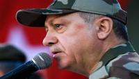 أردوغان يظهر لأول مرة بالزي العسكري قرب سوريا (صور + تفاصيل)