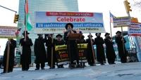 يهود يتظاهرون تضامنا مع شهداء «يوم الأرض»