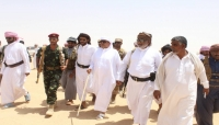 بالصور .. شاهد وصول السلطان بن عفرار الى محافظة المهرة