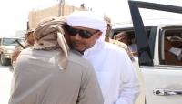 رئيس المجلس العام السلطان عبدالله بن عيسى آل عفرار يلتقي قيادات السلطة المحلية ومندوبي التحالف في المهرة