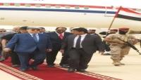 الرئيس هادي يصل المهرة