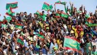"""""""موريتانيا"""" تحتفل بالتأهل لأول مرة إلى نهائيات أمم إفريقيا"""