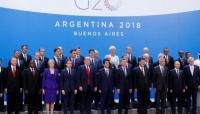 """""""بن سلمان"""" يتعرض للتهميش عند التقاط صورة جماعية في قمة مجموعة العشرين"""