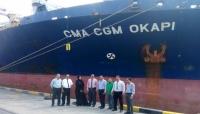 """الخط الملاحي الفرنسي """"CMA CGM"""" يستأنف نشاطه التجاري إلى ميناء عدن"""