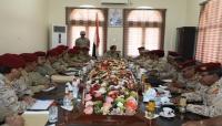 رئيس هيئة الأركان يشدد على أهمية تعزيز دور الدولة في عدن