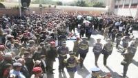 بينهم القيادي الشامي... الحوثيون يشيعون جثامين عدد من قتلاهم بصنعاء
