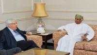 مسئول عماني يبحث مع مارتن جريفيث آخر التطورات في اليمن