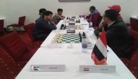 """""""المهرة"""" تهزم الإمارات في بطولة الشطرنج العربية بتونس"""