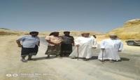 """""""بن عفرار"""" يواصل تفقد مشاريع إعادة تأهيل الطرق المتضررة من إعصار """"لبان"""""""