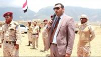 """المحافظ """"محروس"""" يتفقد فرع الشرطة العسكرية بأرخبيل سقطرى"""