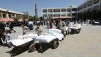 برنامج الأغذية العالمي يستأنف توزيع المساعدات في صنعاء بعد توقف دام شهرين