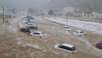 """إعصار لبان في المهرة  .. شاهد على فشل با كريت وزيف إعادة الإعمار السعودية """"تقرير خاص"""""""