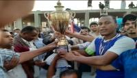 """نادي """"الجزع"""" يفوز ببطولة دوري محلي لكرة القدم في محافظة المهرة"""