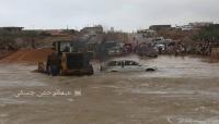 """محافظ """"سقطرى"""" يدعو المواطنين إلى توخي الحذر بالابتعاد عن مجاري السيول"""