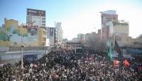 """التلفزيون الإيراني: 35 قتيلاً ونحو 50 جريحاً في تدافع موكب تشييع """"سليماني"""""""