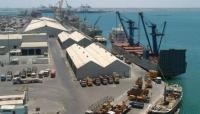 ميناء عدن يسجل رقما قياسيا في مناولة البضائع عام 2019