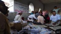 بن ياقوت يسير خيمة طبية لأهالي الشريط الساحلي في سقطرى بعد مناشدة بظهور أوبئة في المنطقة