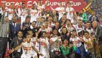 الزمالك المصري بطلاً للسوبر الإفريقي بفوزه على الترجي التونسي