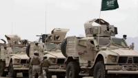 قوة سعودية تغادر مدينة الغيضة نحو منفذ شحن بمحافظة المهرة