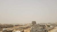 عاصفة رملية تجتاح المهرة وعدة محافظات يمنية