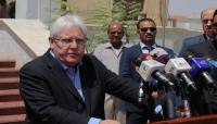 """صحيفة : وفد الحوثيين رفض لقاء """"غريفيث"""""""