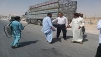 مدير عام شحن يتفقد مركز السلطان قابوس الصحي وإدارات الجمرك في المهرة