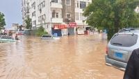 مركز الأرصاد يجدد تحذيره من هطول أمطار غزيرة في المهرة وعدن