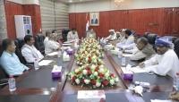 محافظ المهرة يترأس الدورة الاستثنائية للمجلس المحلي