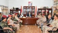اجتماع عسكري بتعز يناقش سير العمليات في جبهات القتال