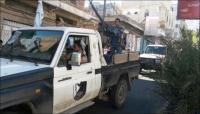 انتشار للمدرعات والدوريات العسكرية في تعز في حملة لضبط الأمن بالمدينة