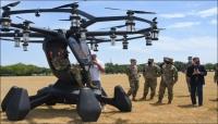 القوات الجوية الأمريكية تجرب أول مركباتها الطائرة
