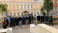 للمطالبة بالمستحقات.. طلاب اليمن في روسيا يواصلون اعتصامهم للأسبوع الثالث على التوالي