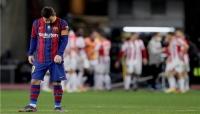 برشلونة يخسر لقب السوبر وميسي يخرج بالبطاقة الحمراء