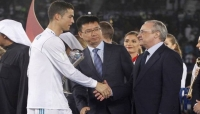 رئيس ريال مدريد يلتقي رونالدو في إيطاليا