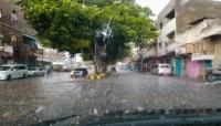الأرصاد يحذرمن تدفق السيول في أجزاء من المهرة وعدد من المحافظات