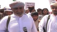 الشيخ الحريزي يؤكد مواصلة النضال حتى رحيل الاحتلال السعودي الإماراتي