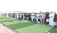 وزير الكهرباء ووكيل المهرة الأول يتبادلان تهاني العيد مع المواطنين