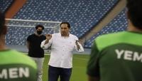 وزير الشباب والرياضة يدعو لاعبي المنتخب للتركيز أمام مباراة أوزبكستان وفلسطين
