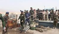 وزير الداخلية يتفقد ميناء نشطون بالمهرة