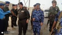 وزير الداخلية يغادر المهرة بعد أيام من زيارته للمحافظة