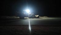 المهرة.. تنفيذ حملة لإزاحة الكثبان الرملية من الخط العام بحصوين