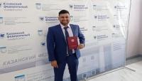 باحث مهري يحصل على درجة الماجستير من جامعة كازان الروسية